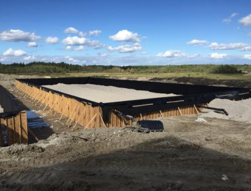 Lake St Martin Aerated Lagoon Works