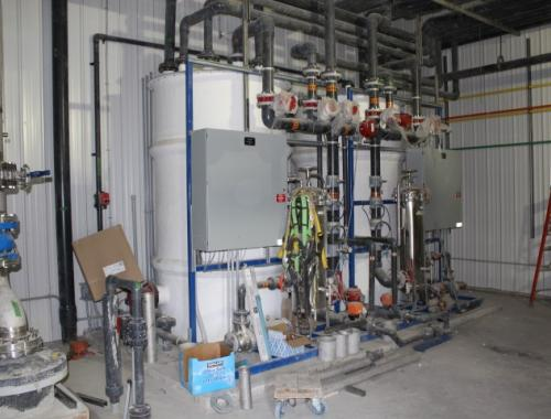 Lake St Martin Water Treatment Plant and Works